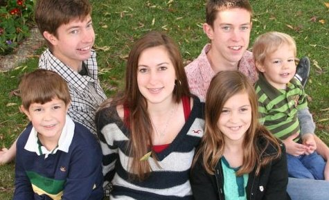 The Plodinec kids in 2009